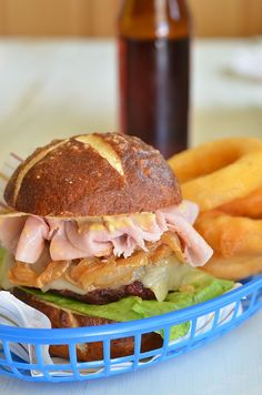 Oktoberfest Burger by Pennies on a Platter, via Flickr