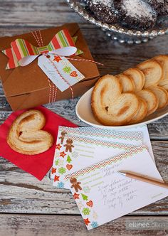 Cookie Exchange Recipe Printables for Christmas
