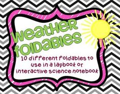Foldables to use in a lapbook or interactive science notebook $