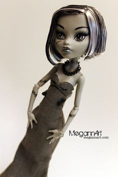 Monster High prom dress from MegannArt
