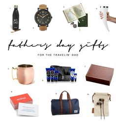 Gift Guide for the Travelin' Dad