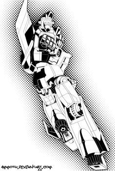 Starscream - Transformers - Ammotu.deviantart.com
