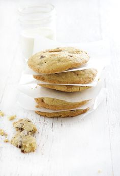 salted butter tOffee chocolate chip cookies