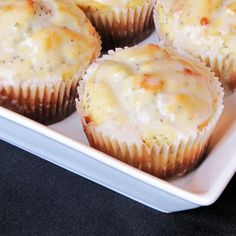 muffins, lemons, doubl lemon, breakfast, food