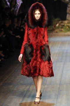 Dolce & Gabbana | Fall 2014 Ready-to-Wear Collection | Style.com fashion weeks, 2014 rtw, fur, dolc, fall 2014, 2014 haut, gabbana fall, haut coutur, coat
