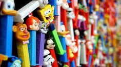 #inspiration, #90s,  #candy, #cartoons, #pez