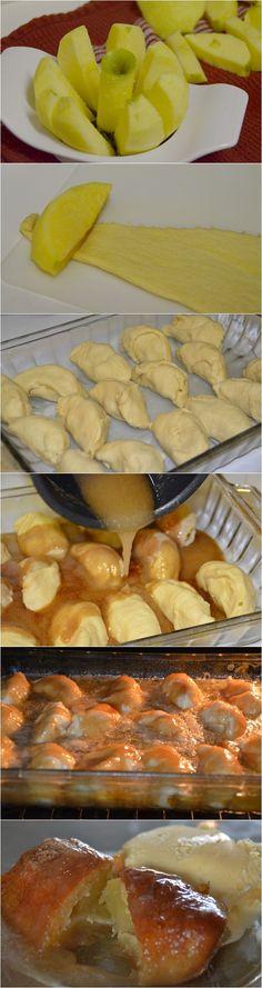 Easy Southern Apple Dumplings