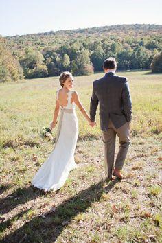 beautiful #wedding portrait | photo by Caroline Joy