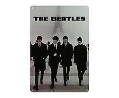 Chapa Retro Beatles - 20x30 VII