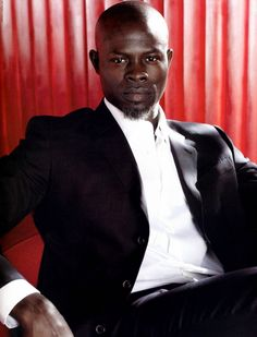 Djimon Hounsou is BEAUTIFUL!!