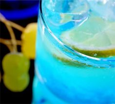 Adios Mother - Drink of the day  Recipe  1 oz vodka  1 oz gin  1 oz white rum  1 oz Blue Curacao liqueur  6 oz sweet and sour mix  6 oz 7-Up® soda    Add vodka, gin, white rum and blue curacao to an ice-filled hurricane glass. Fill the glass with equal parts sour mix and 7-Up, garnish with a cherry, and serve.