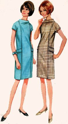 1960s Vintage Sewing Pattern Butterick 4325 MADMEN by sandritocat, $10.00