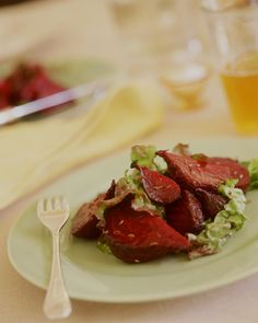 ROASTED BEET SALAD http://www.wholeliving.com/130958/roasted-beet-salad?czone=eat-well/seasonal-foods/summer=136760=136680=88427