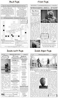 custom newspaper template