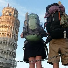 backpack through Europe =D