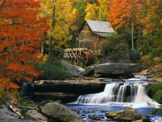 Glade Creek Grist Mill- Art.com