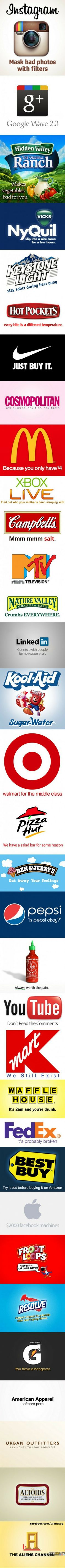 Images of the week, 75 images. 33 Honest Company Slogans