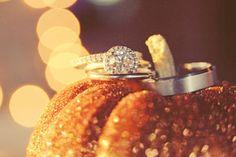 Cute October Wedding photo