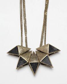 Diamond Block Necklace #tiffany nike marathon tiffany necklaces