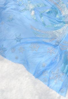 Disney Frozen Elsa Costume fabric