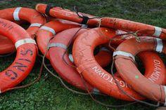 lifesaving rings - photo by Cecilia Walker #brimfield