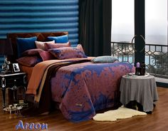 Areon Luxury Bedding by Dolce Mela Jacquard Duvet Set