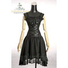 Gothic Corset Dress