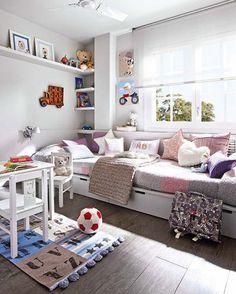 #kids bedroom built in looking beds