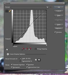 Photoshop Elements Curves tutorial
