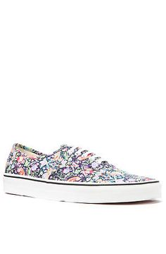 The Vans x Liberty of London Authentic Sneaker in Birds  use rep code: OLIVE 20% off!
