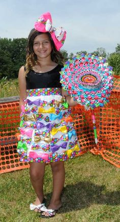 Awesome outfit made out of DuckTape!