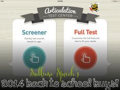 Learn about Little Bee Speech Articulation Test Center and enter to WIN A FREE COPY!  @SublimeSpeech blog!