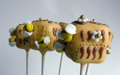 Honey Bee Cake Pops