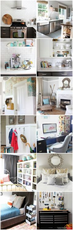 I've come a long way on decorating my house to make it my home. Come see the progress I've made in this fun roundup of room makeovers and projects!