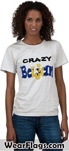 Crazy Bajan #Barbados Flag T-shirt, $20.95 #Caribbean