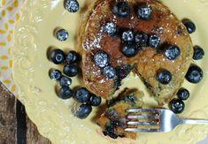 Blueberry Pancakes - Emily Bites