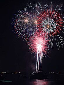Fireworks on Wikipedia - including a rather helpful reference to the different types.