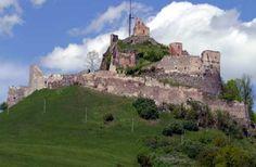 Ruins of Rupea Castle - Romanian Heritage Middle Age