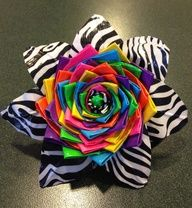 idea, craft, color, duck tape, ducktape, duct tape flowers, tapes, rainbow, flower cake