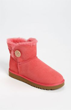 UGG® Australia 'Mini Bailey Button' Boot available at Nordstrom  $134.95 the perfect ones for my mom