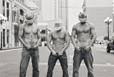 Three sexy cowboys... #love #sexy #cowboys #summer fun