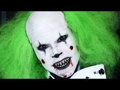 Evil Clown Halloween Tutorial