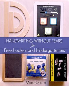 Tips for teaching Preschoolers and Kindergarteners to write. Plus a review, giveaway, and special discount!