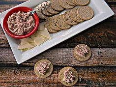 Hun... What's for Dinner?: Deviled Ham & Nairn's Oatcakes