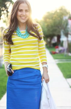 stripes and bright colors