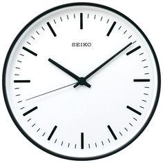 """SEIKO """"STANDARD"""" Analog Clock, Produced by Naoto Fukasawa"""