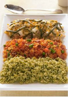 Trio Rice Medley – Impress your family with this side dish, easy to pair with any dinner dish.