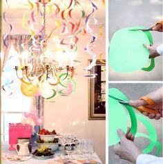 Новогодняя гирлянда своими руками. Новогодняя гирлянда из бумаги. Новогодние гирлянды своими руками. Новогодние гирлянды из бумаги. Елочная гирлянда.