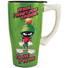 Looney Tunes™ Marvin The Martian Travel Mug