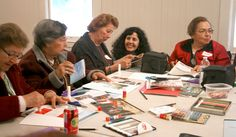 Spanish-speaking caregiver's retreat: Sharing creativity at the crafting table